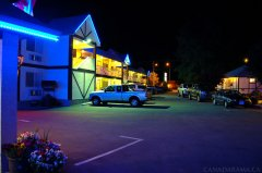 Rosedale Motel Evening
